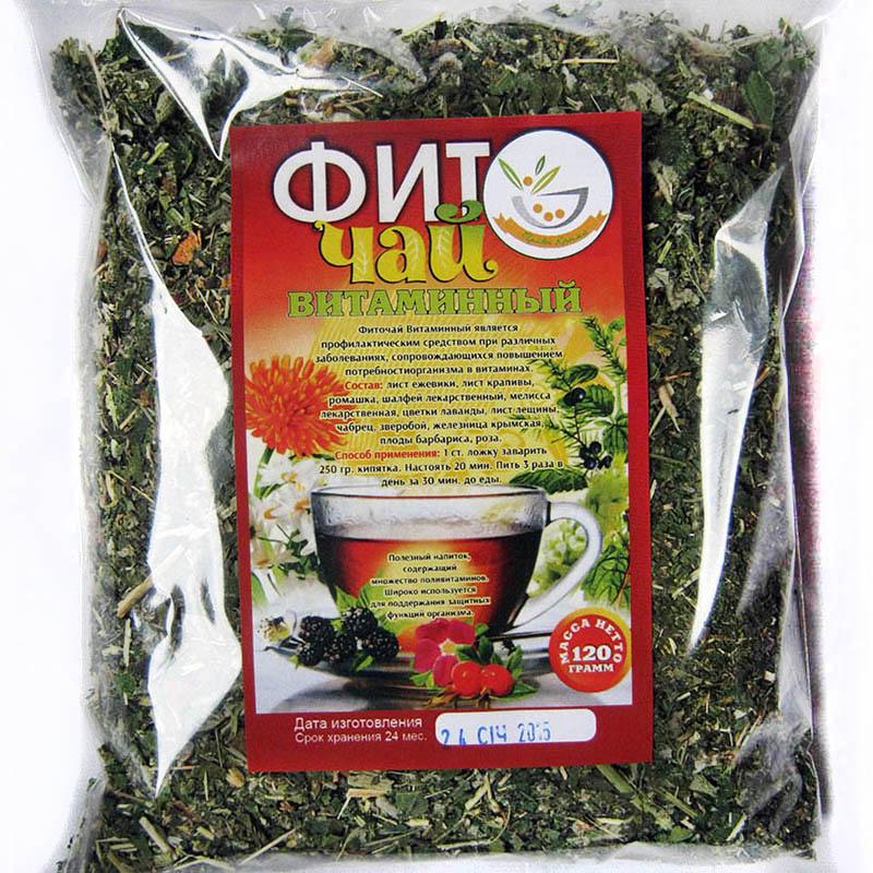 Чай витаминный рецепт