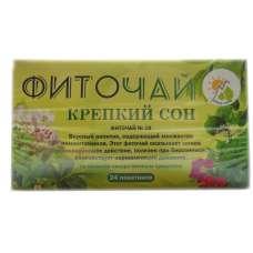 Травяной чай Крепкий сон пакетированный