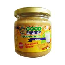 Ореховая паста с медом 180г Good Energy